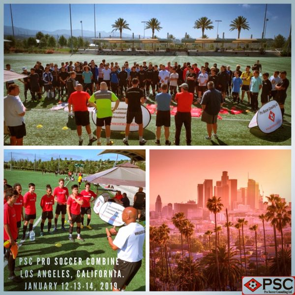 California Pro Soccer Tryout Los Angeles PSC Soccer